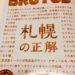 BRUTUS11月1日発売号に白樺樹液掲載